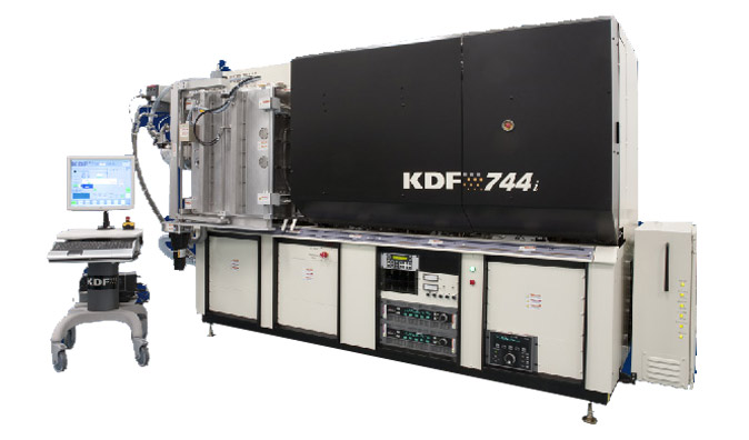 inline sputtering equipment 744i series KDF Electronics