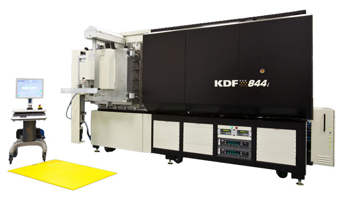 inline sputtering equipment 844i series KDF Electronics